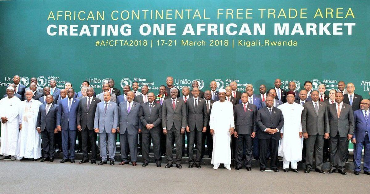 Image result for africa free trade agreement ghana