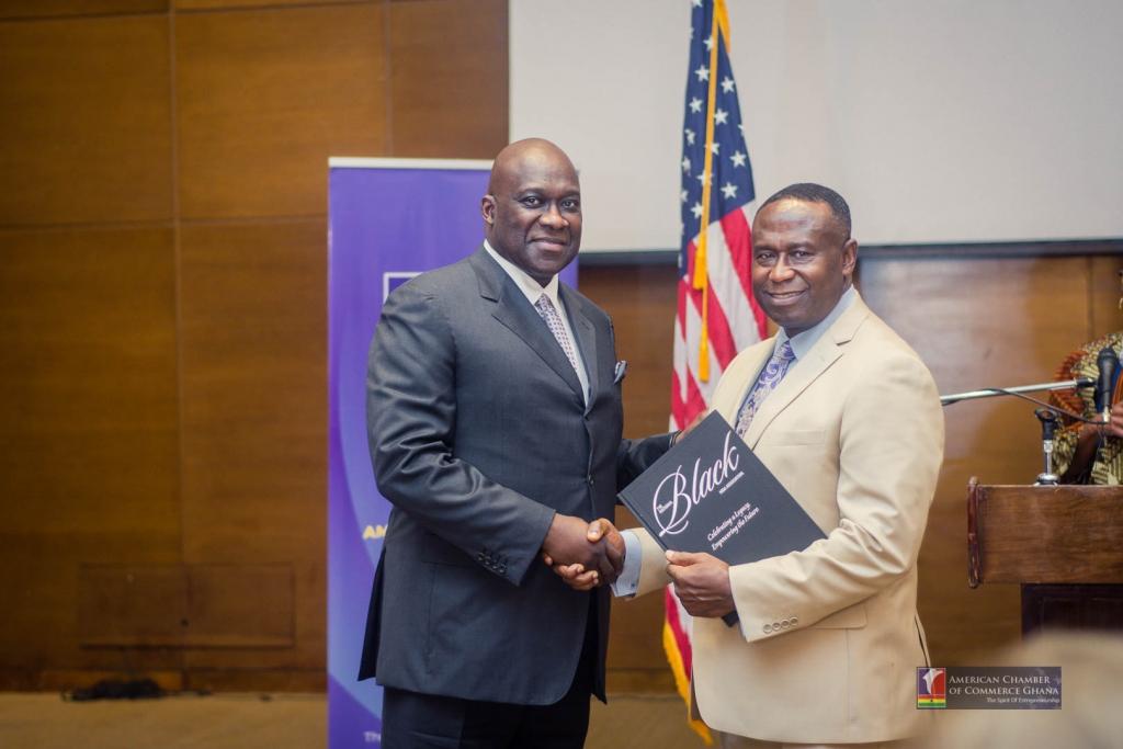 AmCham Ghana Business Breakfast With National Black MBA